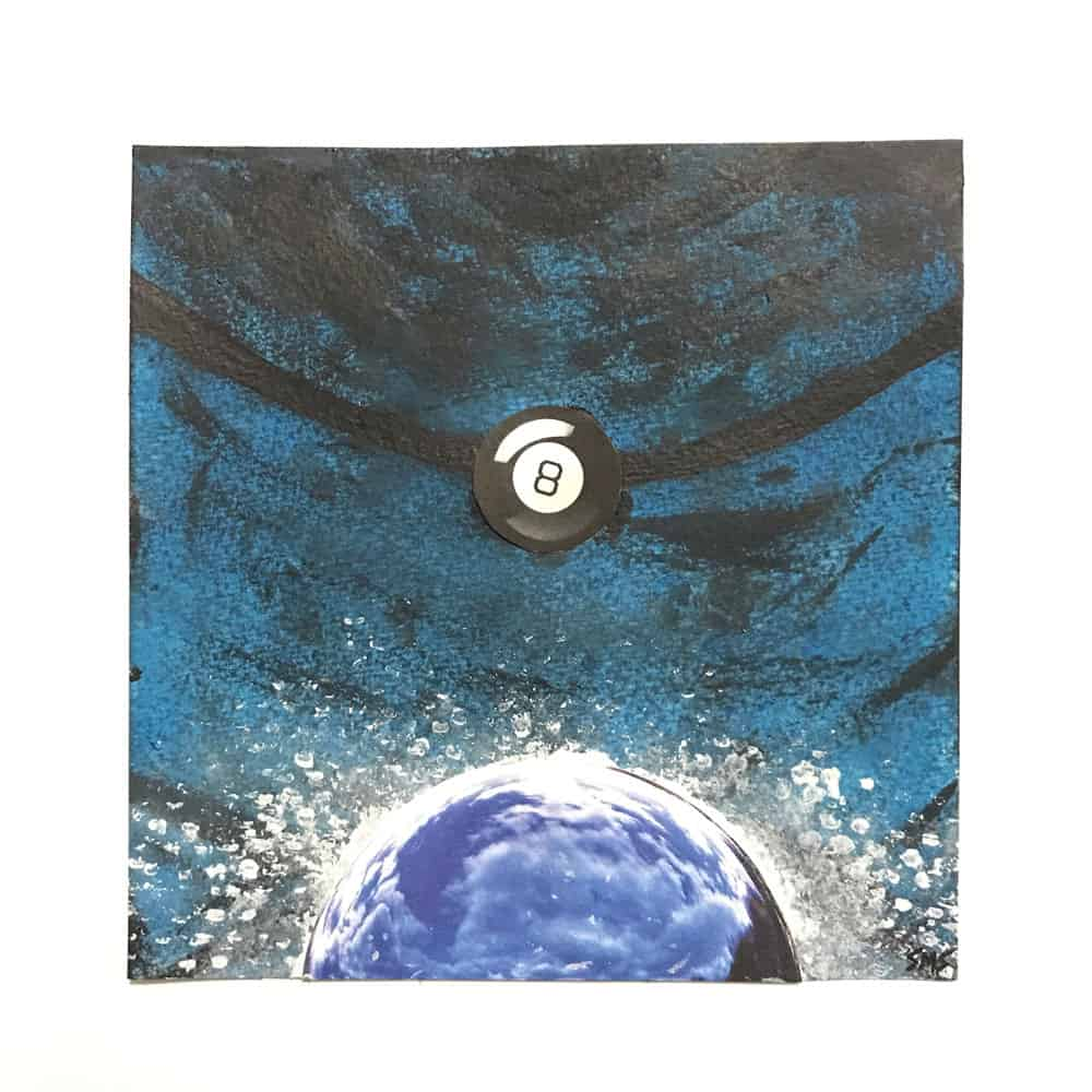 sarah schumacher mixed media painting art word of the day perigee the100dayproject